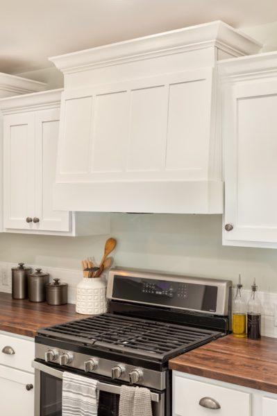 Custom White Kitchen Style