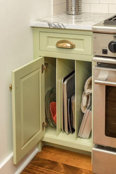 Vertical Tray Divider Cabinet